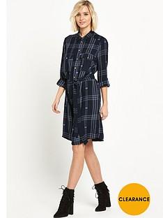 river-island-belted-check-shirt-dress