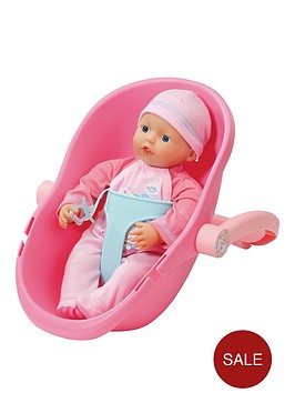 baby-born-my-little-baby-bornnbspsupersoft-doll-amp-comfort-seat