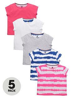 v-by-very-girls-tie-dye-t-shirts-5-pack