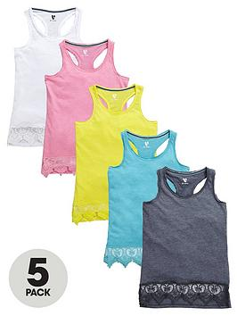 v-by-very-girls-lace-trim-racer-back-vests-5-pack
