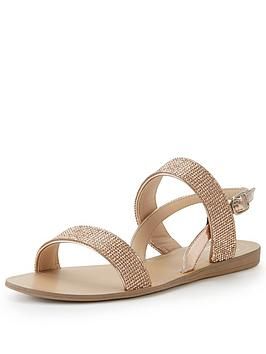 wallis-shiny-multi-strap-sandal