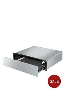 smeg-ctp3015x-60cm-built-in-warming-drawer