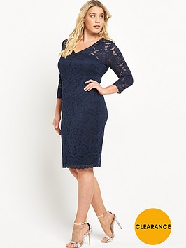 ax-paris-curve-lace-dress