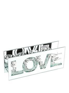hestia-mirror-amp-crystal-tea-light-holder-ndash-love