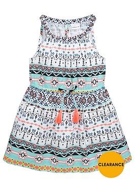 ladybird-girls-woven-tribal-print-dress