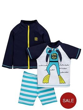 ladybird-boys-diver-sunsafenbspjacket-top-and-shorts-set-3-piece