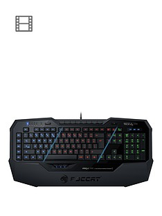 roccat-isku-illuminated-pc-gaming-keyboard-uk-layout