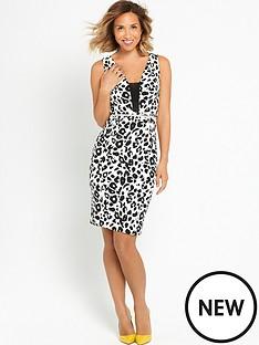 myleene-klass-leopard-print-mini-dress