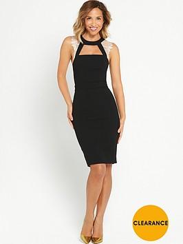 myleene-klass-lace-panel-pencil-dress