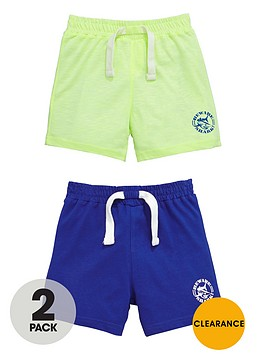 ladybird-boys-jersey-pull-on-shorts-2-pack