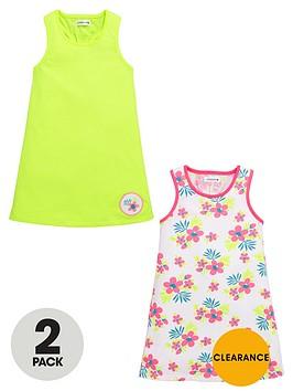 ladybird-girls-bright-strappy-dresses-2-pack