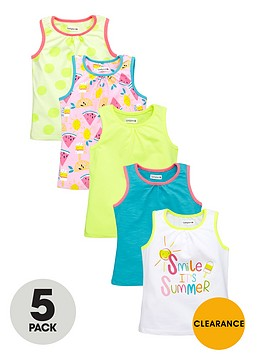 ladybird-girls-bright-vests-5-pack