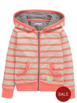 ladybird-girls-stripe-zipped-hoodie
