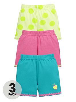 ladybird-baby-girls-bright-summer-shorts-3-pack