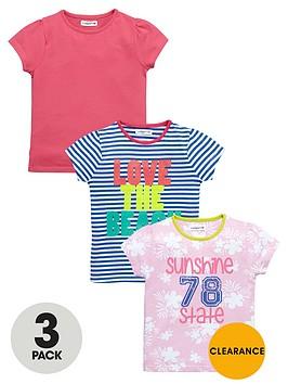 ladybird-girls-summer-t-shirts-3-pack