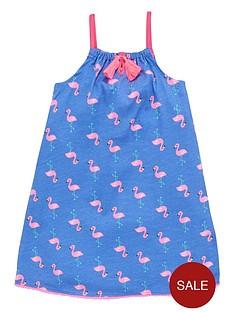 ladybird-girls-flamingo-jersey-maxi-dress