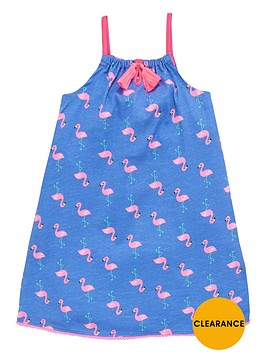 ladybird-girls-flamingo-jersey-maxi-dress