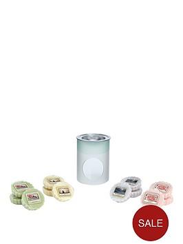 yankee-candle-sandblast-melt-warmer-with-12-classic-wax-melts