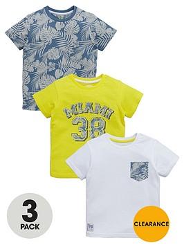 ladybird-boys-miami-38-print-t-shirts-3-pack