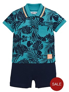 ladybird-baby-boys-tropical-two-in-one-romper