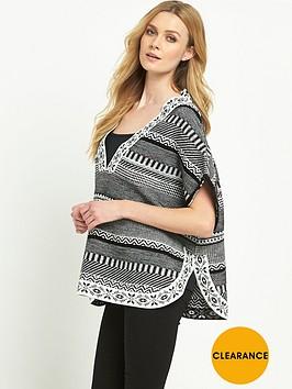 v-by-very-patterned-poncho