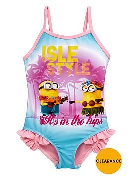 minions-girls-hula-swimsuit