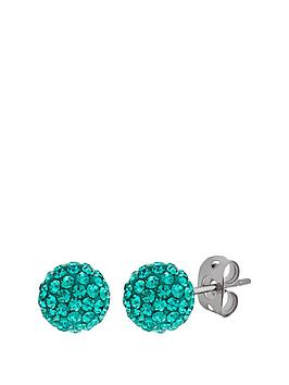 tresor-paris-tresor-paris-bonbon-crystal-amp-titanium-8mm-ball-stud-earrings