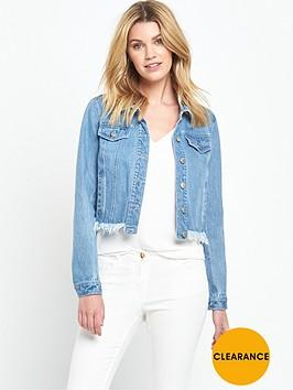v-by-very-frayed-hem-denim-jacket