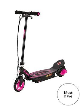 razor-powercore-e90-scooter-pink