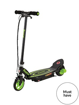 razor-powercore-e90-scooter-green