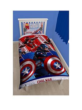 marvel-civil-war-rotary-single-duvet-cover-and-pillowcase-set