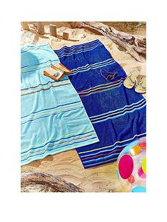 catherine-lansfield-rainbow-beach-towel-pair-blue-amp-aqua