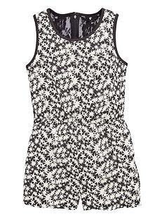 v-by-very-girls-star-print-and-lacenbspplaysuit