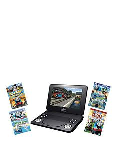 lava-9-inch-portable-dvd-player-with-thomas-amp-friends-dvd-bundle