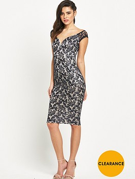ax-paris-off-the-shoulder-sweetheart-neck-midi-dress