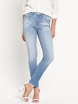 lee-skyler-power-stretch-denim-high-waistnbspjean-beach-blue