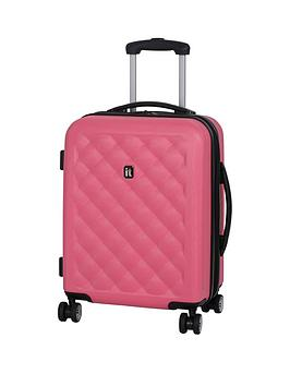 it-luggage-quilted-hard-shell-8-wheel-cabin-case