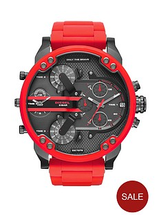 diesel-chief-black-and-red-ip-mens-watch