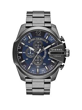 diesel-mega-chief-blue-dial-and-gunmetal