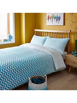 geo-stripe-duvet-cover-set-blue