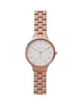 skagen-anita-rose-gold-stainless-steel-bracelet-ladies-watch