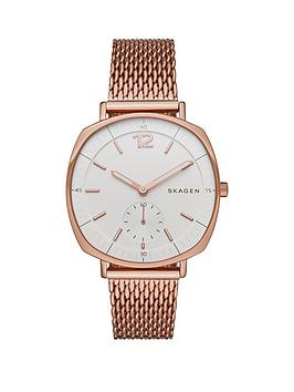 skagen-rungstednbsprose-gold-stainless-steel-mesh-bracelet-ladies-watch