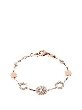 fossil-rose-gold-plated-crystal-set-disc-bracel
