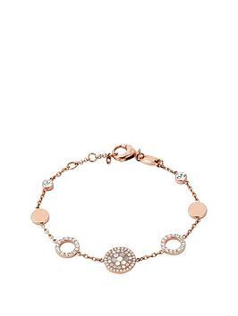 fossil-rose-gold-plated-crystal-set-disc-bracel