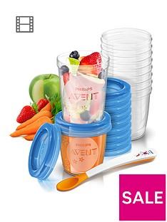 avent-aventnbspfood-storage-cups-10x-180ml-10x-240ml
