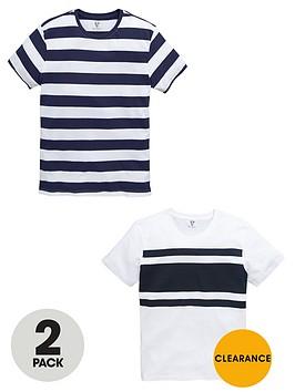 v-by-very-multi-stripe-tees-2-pack