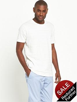 v-by-very-short-sleeve-crew-blister-stitch-t-shirt