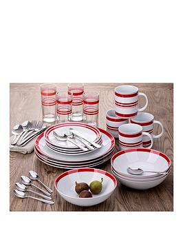 bistro-stripe-36-piece-salsa-dinner-set