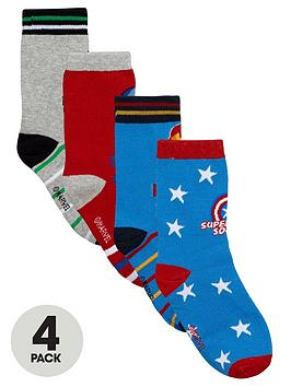 marvel-boys-avengers-socks-4-pack