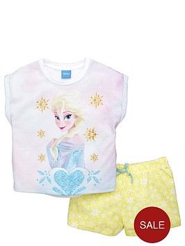 disney-frozen-girls-elsa-shortynbsppyjamas